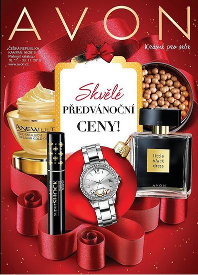 Vánoční Avon katalog 16-2016